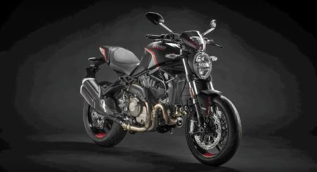 Ducati Monster Stealth front quarter