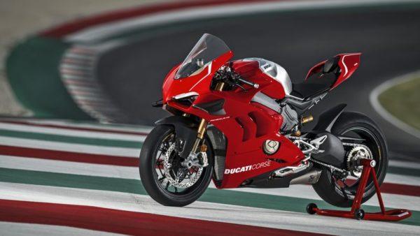 Ducati Panigale V4R Paddock shot