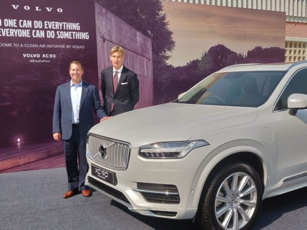 Volvo XC90 T8 local assembly begins