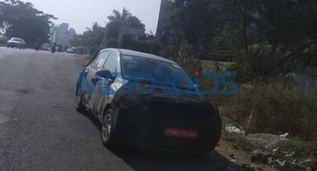 Motoroids Exclusive: Spy Shots of the New Generation Hyundai Grand i10