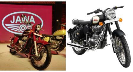 Jawa vs RE 350 Classic