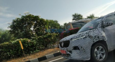IMAGE GALLERY: Upcoming MG Motor SUV Spotted Showing Details