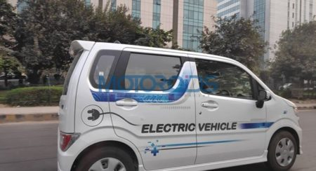 Fleet of Maruti Suzuki EV's Spotted in Gurgaon