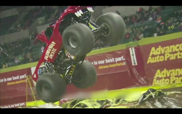 Monster truck maddness comes to India Wheelie