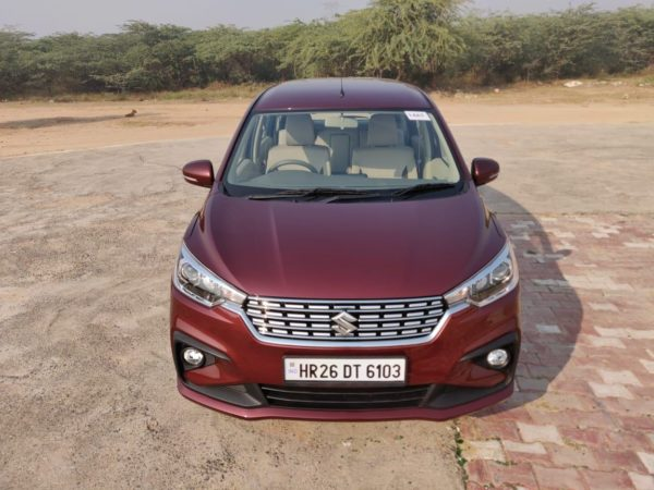 New 2019 Maruti Suzuki Ertiga Head on view(28)