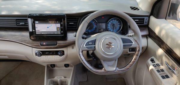 New 2019 Maruti Suzuki Ertiga Steering wheel (21)