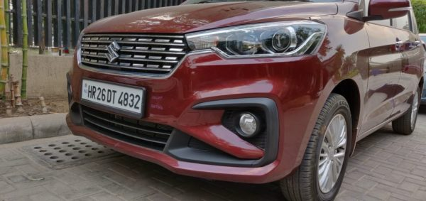 New 2019 Maruti Suzuki Ertiga bumper(48)