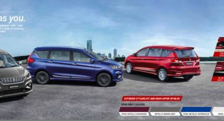 Here Are the Accessories Available with the New Generation Ertiga