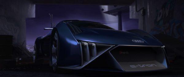 RSQ e tron concept front low