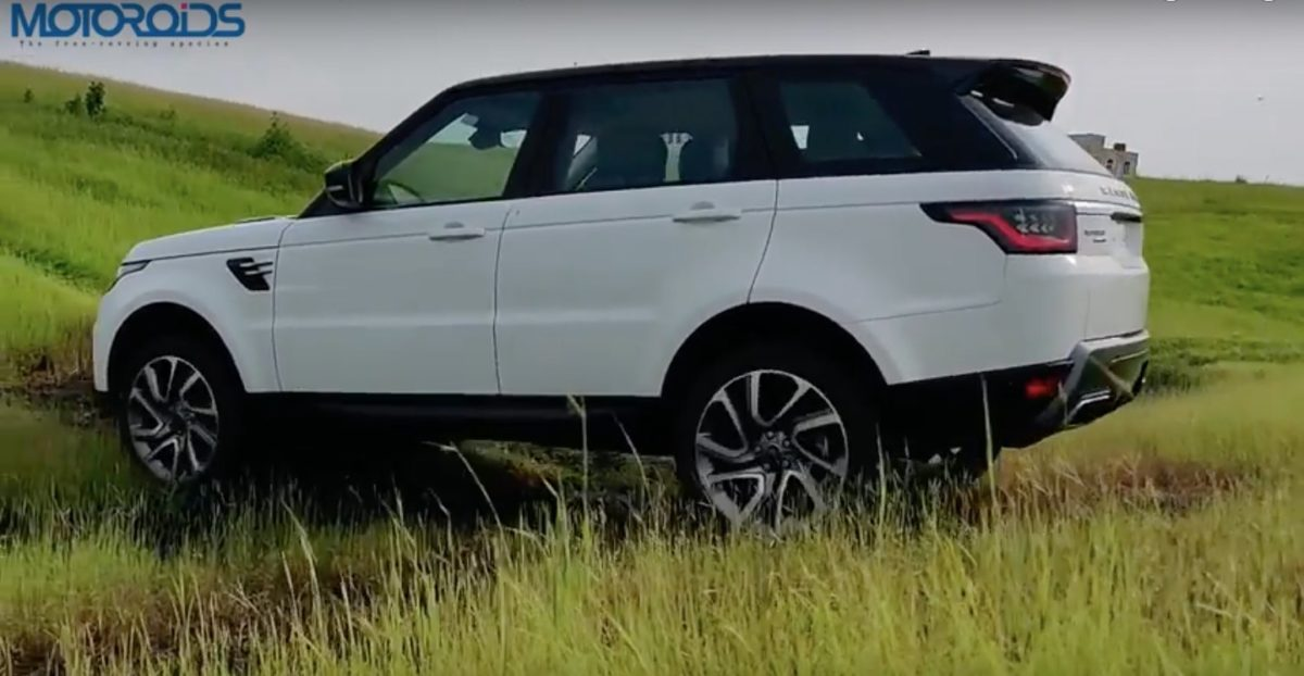 Range Rover Sport Review side