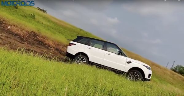 Range Rover Sport review downhill
