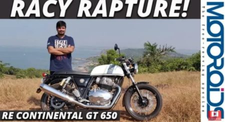 Royal Enfield Continental GT 650 Review featured