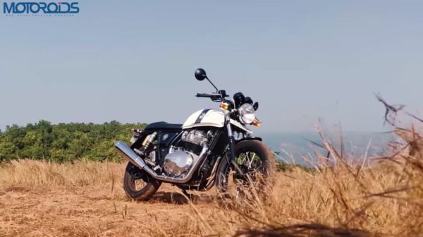 Royal Enfield Continental GT 650 Review front quarter