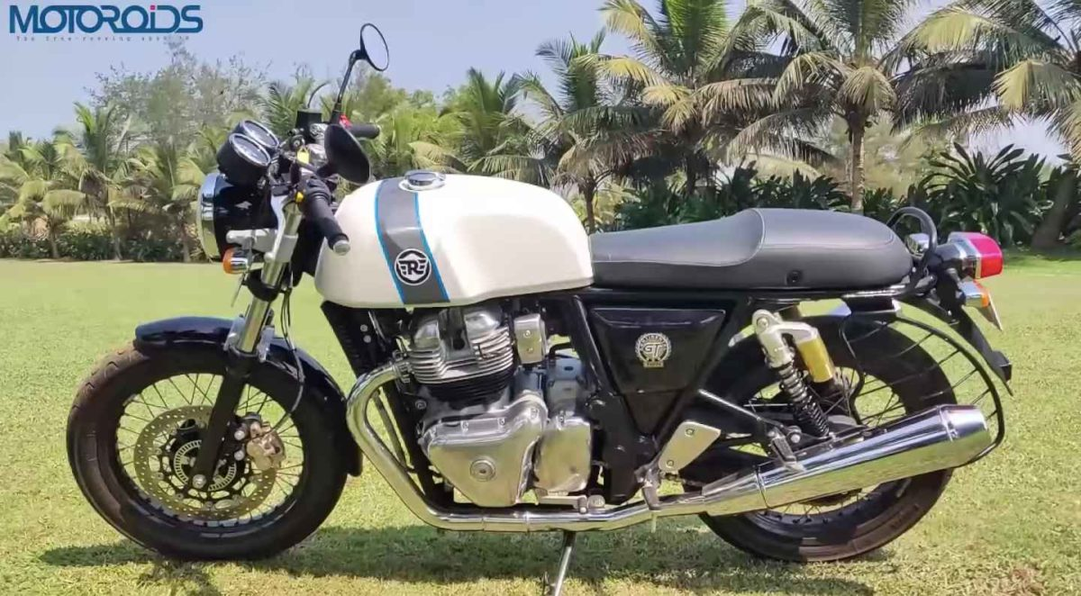 Royal Enfield Continental GT 650 Review side profile