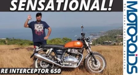 Royal Enfield Interceptor 650 review featured