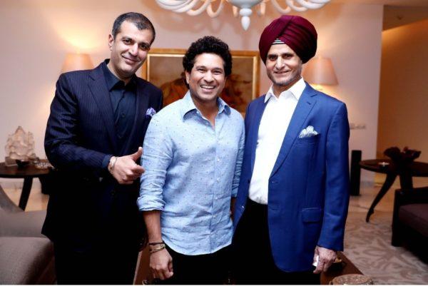 Sachin tendulkar and apollo tyres partnership