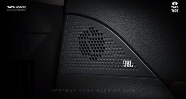 Tata Harrier JBL Speaker System