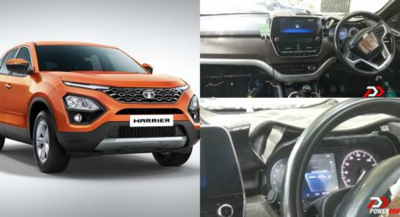 Spy Shots Reveal the Visteon Sourced Infotainment Screen of the Tata Harrier