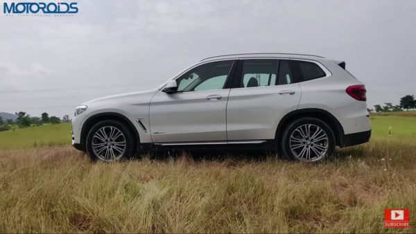 BMW X3 Review side