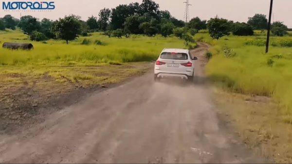 BMW X3 Review rear rolling