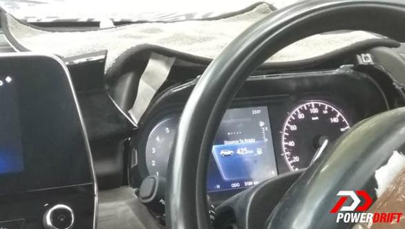 tata harrier interior image interior steering wheel
