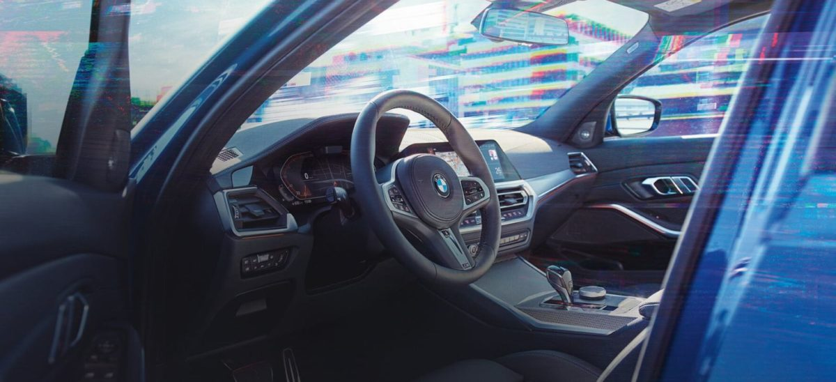 2019 BMW 3 Series cabin