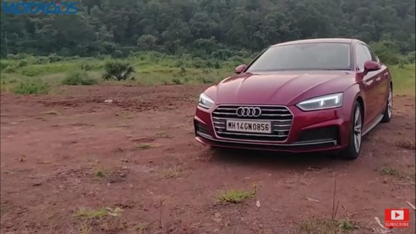 Audi A5 review front right sde