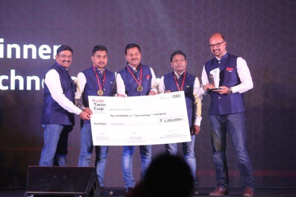 Audi Twin Cup Technology Category winners_Audi Bubaneshwar (1)