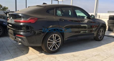 BMW X4 2nd generation spied side