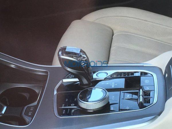 BMW X5 4th generation spied gear lever