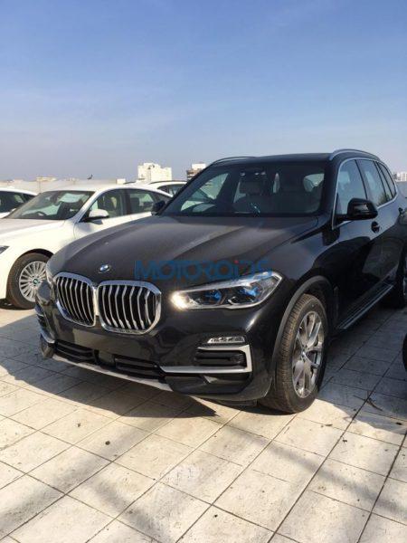 BMW X5 4th generation spied right corner