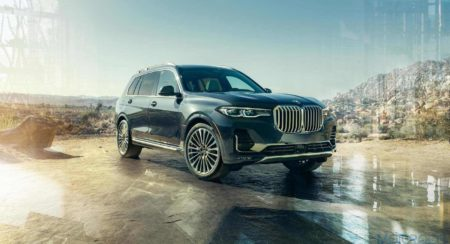 BMW X7 Front three quarters