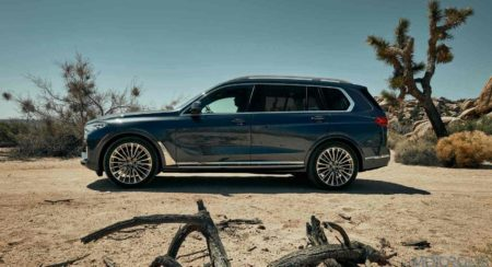 BMW X7 side profile