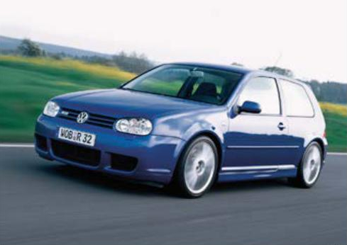 Golf first DSG equipped car