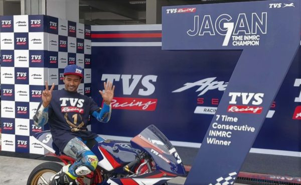 Jagan Kumar 2018 Indian National Motorcycle Racing Champion