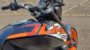 KTM Duke 125 review tank graphic