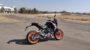 KTM Duke 125 review side