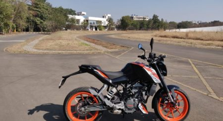 VIDEO: Around Bajaj's Test Track Astride A KTM Duke 125