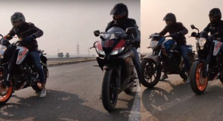 VIDEO: KTM Duke 125 Takes On Multiple 150cc Bikes In A Drag Race