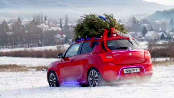 Merry Swiftmas rear