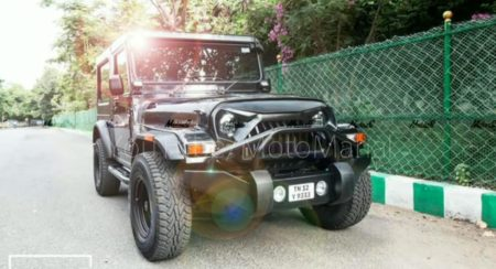 This Is A Mahindra Thar Done Right