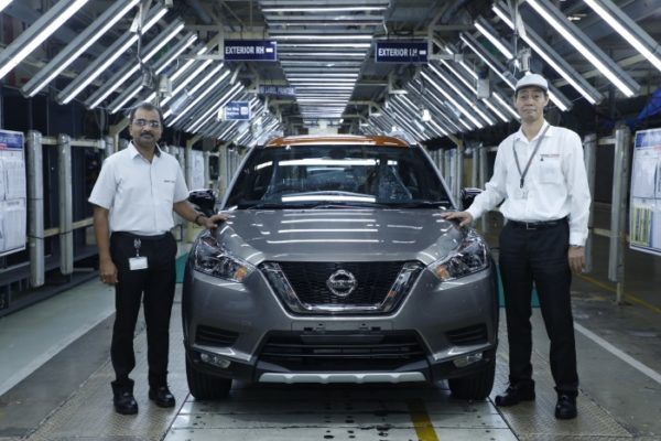 New Nissan KICKS production begins