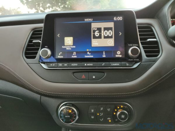 New Nissan Kicks India touchscreen infotainment(29)