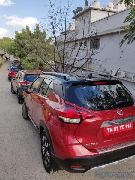 New Nissan Kicks Red India (5)
