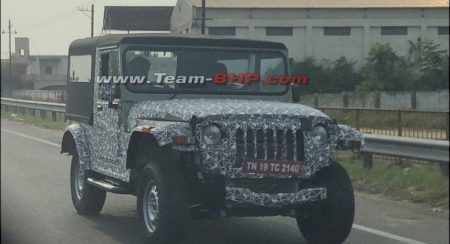 New generation Thar front quarter