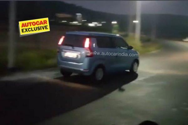 Nex gen Maruti Wagon R rear