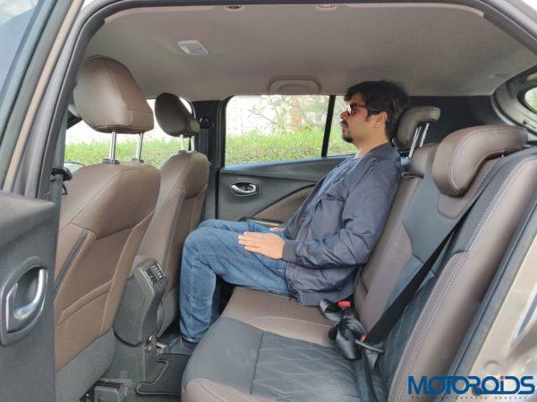Nissan Kicks Media Drive seating