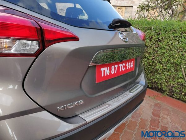 Nissan Kicks Media Drive rear