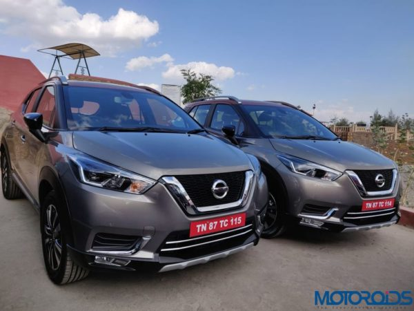 Nissan Kicks Media Drive 2 kicks left