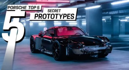 Porsche's secret prototypes featured